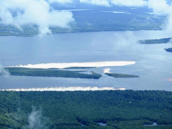 floresta amazônica lugar de pesca na Amazônia
