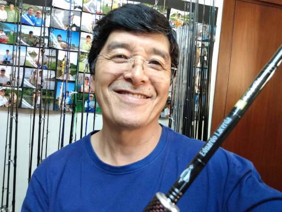 ricardo fucuhara pescador de pesca na Amazônia