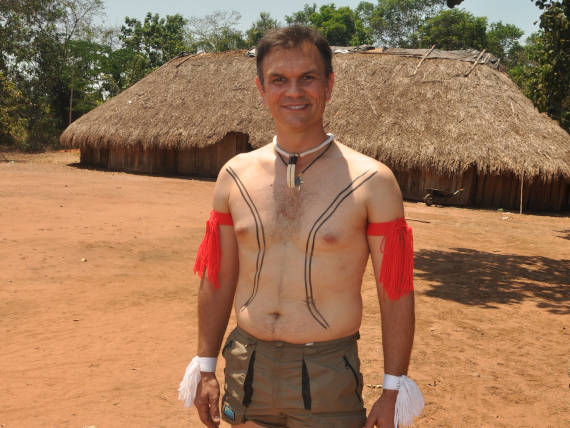 parque indígena do xingu lugar de pesca na Amazônia