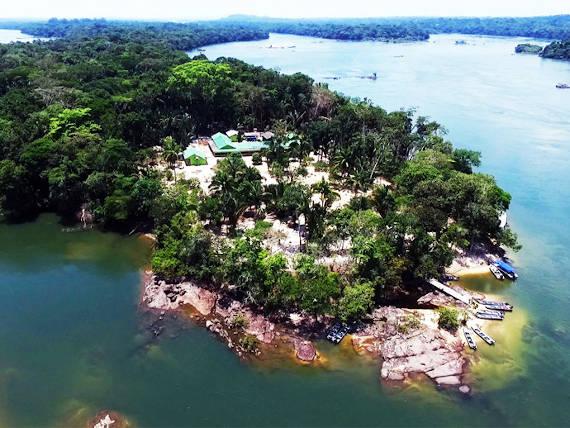 pousada juruena estadia para pesca na Amazônia