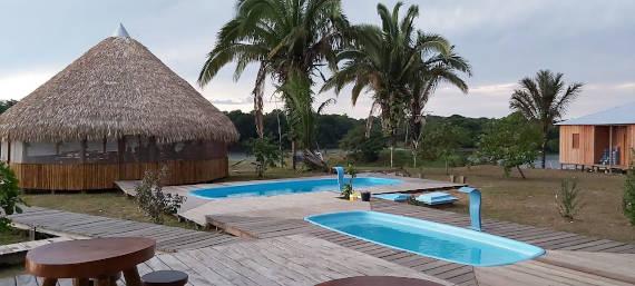 pousada sol do amanhã estadia para pesca na Amazônia