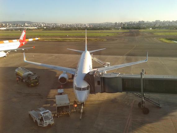 avião para viagem da pesca na Amazônia